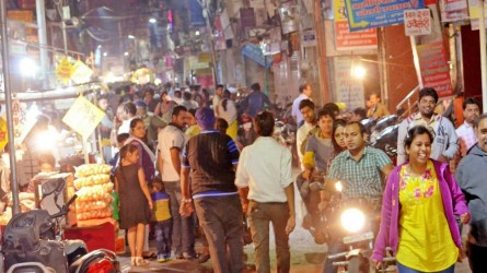 Sarafa (Night Street Food Market)