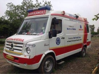 Aambulance service in indore
