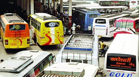 Bus Stands in Indore